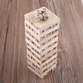 New Wooden Tower Wood Building Blocks Dice Funny Stacker Building Educational Game Gift Classical Puzzle