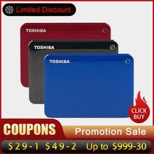 """Toshiba Canvio Gelişmiş USB 3.0 2.5 """"1 TB 2 TB Taşınabilir harici sabit disk Mobil HDD Masaüstü Dizüstü Şifreleme hdd 2.5 1 TB"""