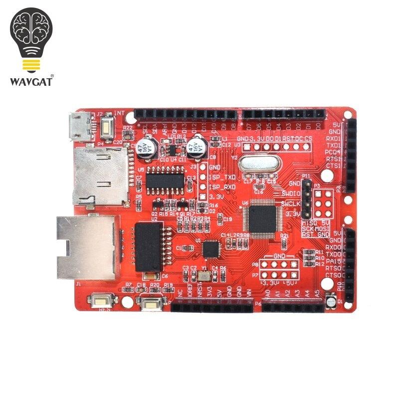 WAVGAT WIZwiki Chip W7500 Internet der dinge mikrocontroller entwicklung board ARM Cortex-M0 für arduino W5100 UNO R3 MEGA