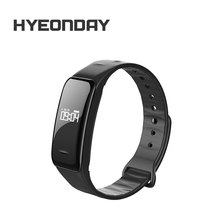 "HYEONDAY Wristband B1 Sport Bracelet Coronary heart Price Monitor Good Band zero.96"" OLED Smartband Blood Stress Step Pedometer Bracelets"