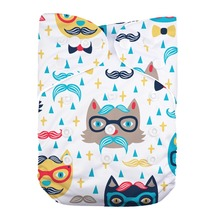 New Arrival Baby Cloth Diaper Cover Reusable Baby Nappies Cover Nappy Washable Ajustable Pocket Diapers