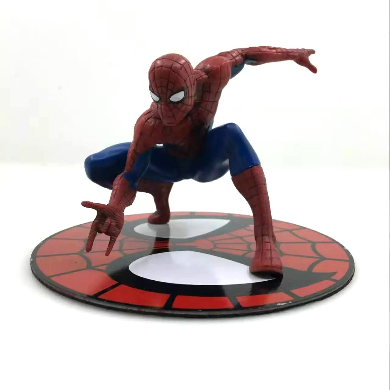 SAINTGI Spider-Man Purple Venom First Generation Harmonia Edition Rare Amazing Marvel PVC Collectible Avengers Movable Body 12cm