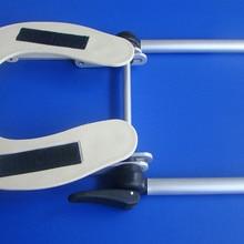 Регулируемый алюминиевый подголовник для лица, подставка для кровати/стола, прочная Массажная платформа, подставка для головы для массажа красоты и спа
