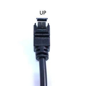Image 2 - YuXi USB 2.0 żeńskie do Mini USB typu B 5pin 90 stopni w górę i w dół oraz w lewo i w prawo pod kątem mężczyzna kabel do transmisji danych