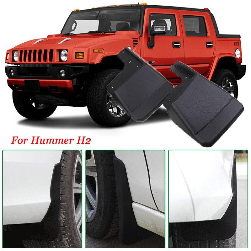 4pcs Premium Heavy Duty Molded Splash Mud Flaps Guards Fenders For Hummer H2|Mudguards| |  - title=
