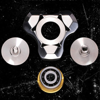 Creative Tri Spinner Fidget Spinner Steel Hand Spinner 606 Hybrid Ceramic Bearing Educational Toys Spinner Hand