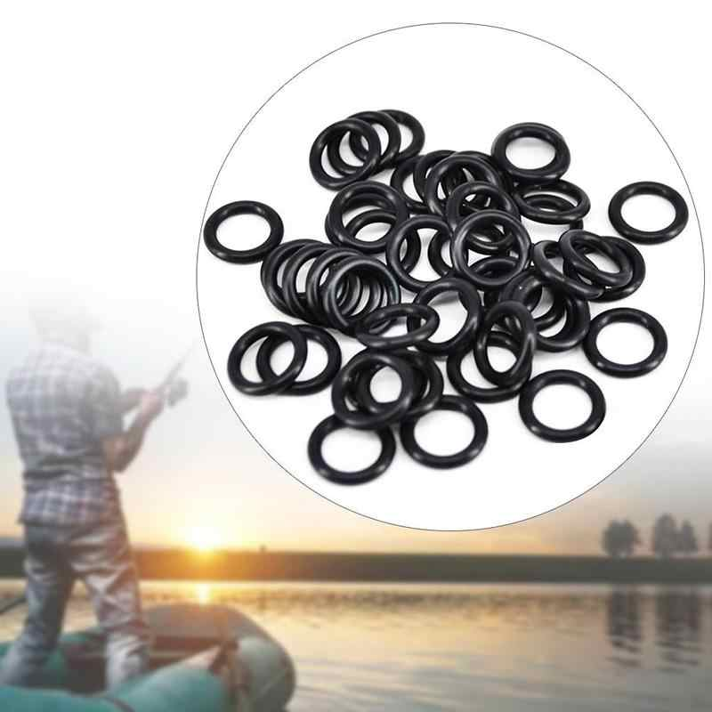 100pcs O Rings Made by Caoutchouc Nitrile for Bite Alarms Rod Pods Buzz Bars