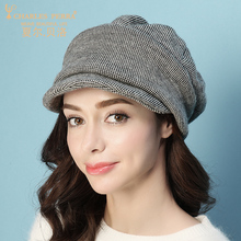 Charles Perra Brand Beret Female Autumn Winter New Korean Version Women Hats Caps Fashion Keep Warm Casual Match 9539 все цены