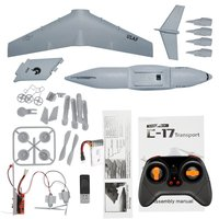 C17 RC Drone DIY Aircraft Transport Plane 373mm Wingspan EPP RC Drone Airplane 2.4GHz 2CH 3 Axis Aircraft for Children best Toy