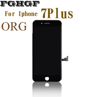 ORG FGHGF Mobile Phone LCD Screen 2PCS Lot For Iphone 7Plus Display 5 5 Inch With
