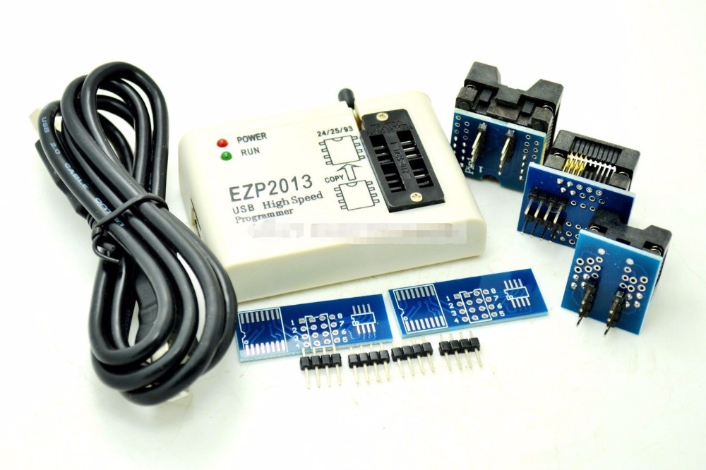 Socket EZP2013 USB Programmer SPI 24 25 93 EEPROM Flash Bios Chip Software