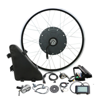 48V 1000W Triangle Bag Electric Bicycle Motor Wheel Big Power for MTB Bike Conversion Kit for 26'' 700C Rear Wheel Ebike Parts