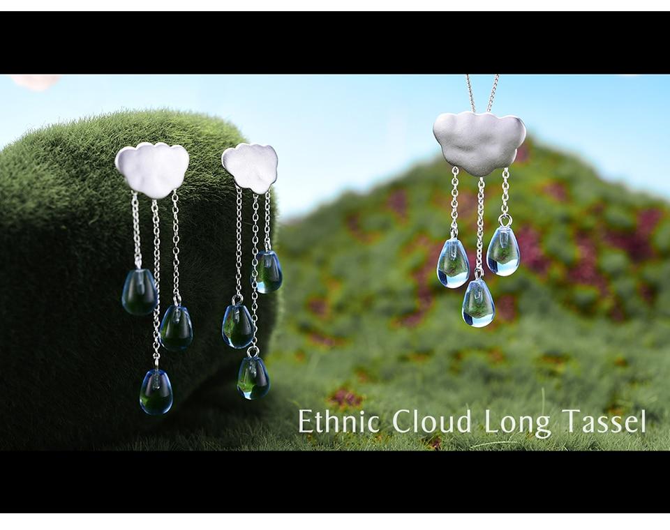 Ethnic Cloud Long TasselLFJS0012