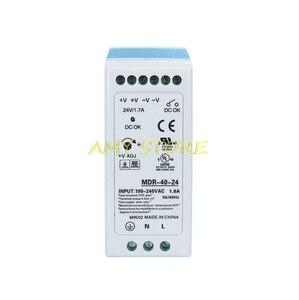 Image 2 - MDR 40 40W Single Output 5V 12V 15V 24VDC Din Rail Switching Power Supply 85 264VAC/120 370VDC Input