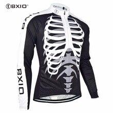 Bxio Men s Winter Thermal Fleece MTB Cycling Jersey Shirt Bike Jersey Pro Bike Team Long