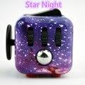 2017 новый дизайн коллекционные Непоседа куб Звезда Ночь 3.3 см мини Антистресс фокус игры прохладный весело стороны spinner игрушки стол EDC с коробкой