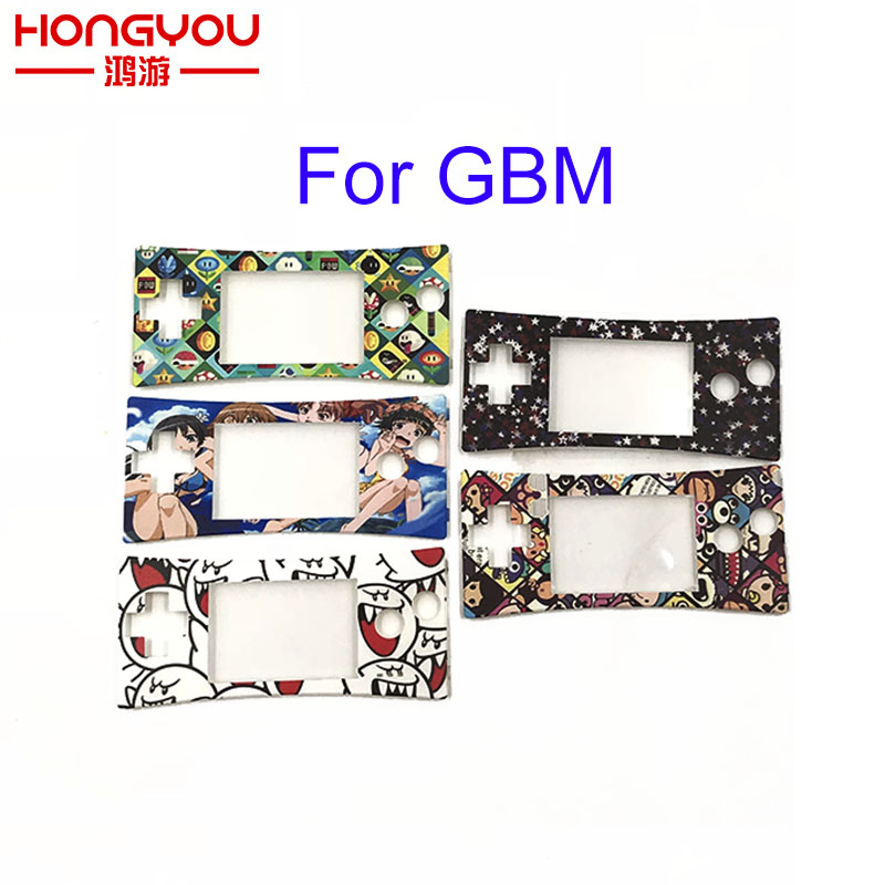 20pcs Faceplate Cover Replacement Front Shell Housing Case For Nintendo Game Boy Micro for GBM