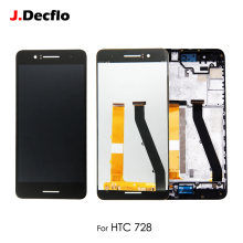цены на For HTC Desire 728 728G LCD Display Touch Screen Digitizer Assembly With/No Frame Replacement 100% Tested Original 5.5