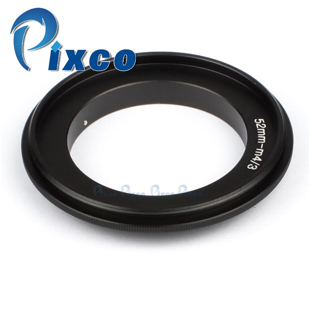 52mm Lens Macro Reverse Adapter Ring For Micro Four Thirds Camera premium 8x macro effect camera lens filter 52mm