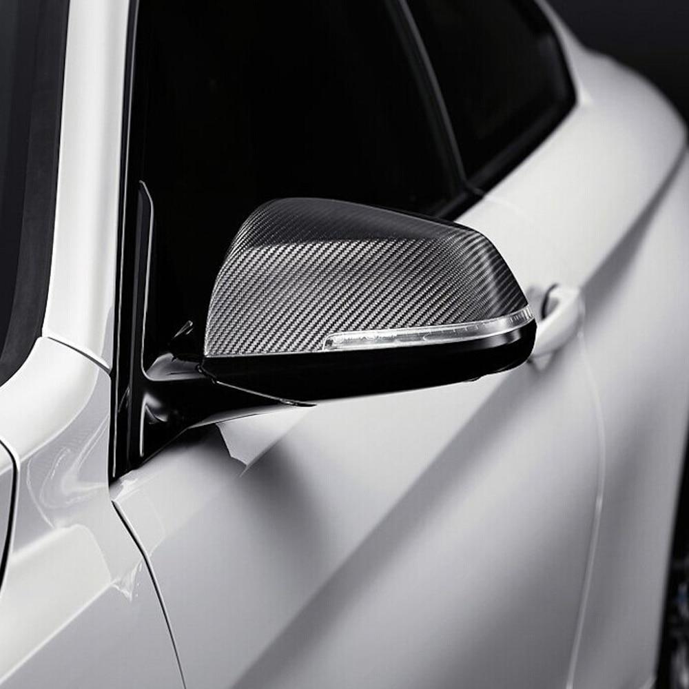 F32 Carbon Fiber Replace Auto Car Mirror Cover Cap Trim for BMW F32 2014-2016 vel vel 03 06 04 00800