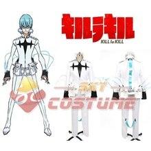 Убить ла убить Houka Inumuta белой форме костюм аниме хэллоуин ну вечеринку для мужчин косплей костюм