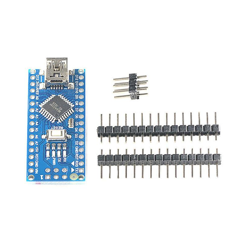 Hot Selling MINI USB Nano V3.0 ATmega328P CH340G 5V 16M Micro-controller Board Adapter Dec21 адаптер wi fi asus usb n10 nano usb2 0 802 11n 150mbps nano size usb n10 nano