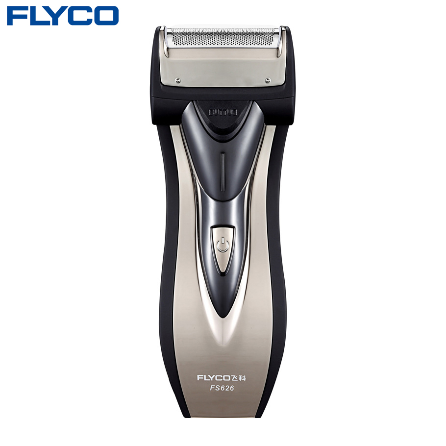 FLYCO Electric Razor Men's Shaving machine Global Voltage Single individual Floating Foil Head With Pop-up Trimmer shaver FS626 global elementary coursebook with eworkbook pack