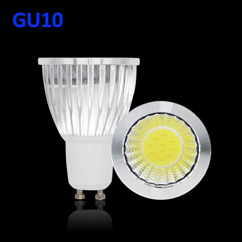 COB Lamparas Led lamp 220V GU10 Bombillas LED Bulb GU5.3 Ampoule led spotlight ceiling chandelier Downlight