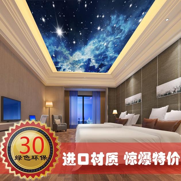 modificado para requisitos grande pared del dormitorio mural techo d techo hoteles universo ktv tema