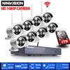 Home Security Camera CCTV System Wireless DVR 8CH IP CCTV Kit HD 960P P2P IR Night