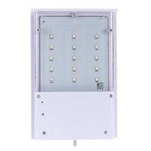 15 LED Solar Power Waterproof Outdoor Light Garden Street Security Lamp