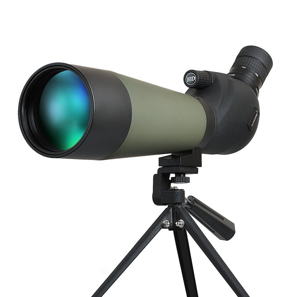 SUNCORE Sniper 20-60X80 Waterproof Monocular Refractor Space Astronomical Telescope Redfield Rampage Spotting Scope Kit brand new f90060m 900 60mm monocular refractor space astronomical telescope spotting scope 45x 675x