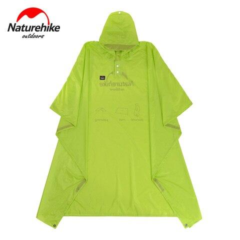 Naturehike Outdoor Camping Raincoat Hiking Rain Poncho Rainproof 3-In-1 Multifunction Rianproof Clothes Outdoor Hiking Camping Multan