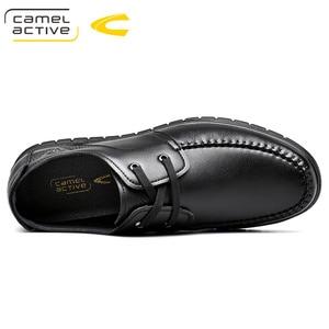 Image 3 - Camel Active 2019 PRIMAVERA/otoño nueva marca de lujo de cuero genuino de los hombres zapatos casuales de cuero de vaca de los hombres de banquete partido Formal mocasines