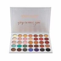 BEAUTY GLAZED 35 Colors Pressed Powder Eye Shadow Palette Natural Colors Beauty Glazed Make Up Eye