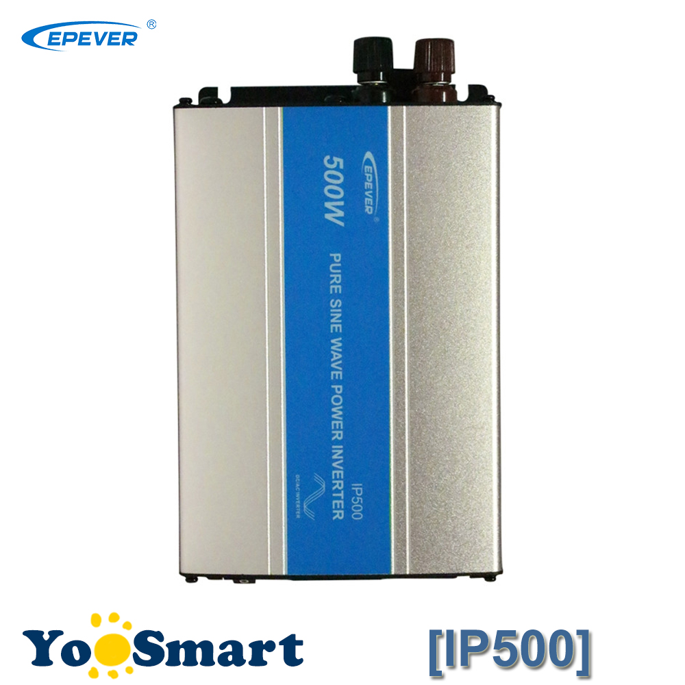 цена на EPever 500W IPower Pure Sine Wave Inverter 12VDC 24VDC Input 110VAC 120VAC 220VAC 230VAC Output 50HZ 60HZ Solar Inverter
