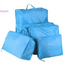 5 Sizes/set Home Travel Clothes Underwear Socks Storage Bags Packing Cube Luggage Bag Organizer For You vy
