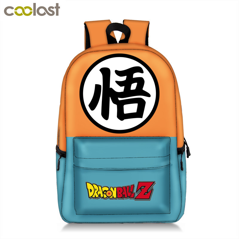 Dragon Ball Backpack for Teenager Girls Boys Anime Pokemon Schoolbag College Student Laptop mochila feminina Men Travel Bags anime pokemon pikachu backpack pokemon computer backpacks school bags for teenager girls boys kawaii mochila feminina package