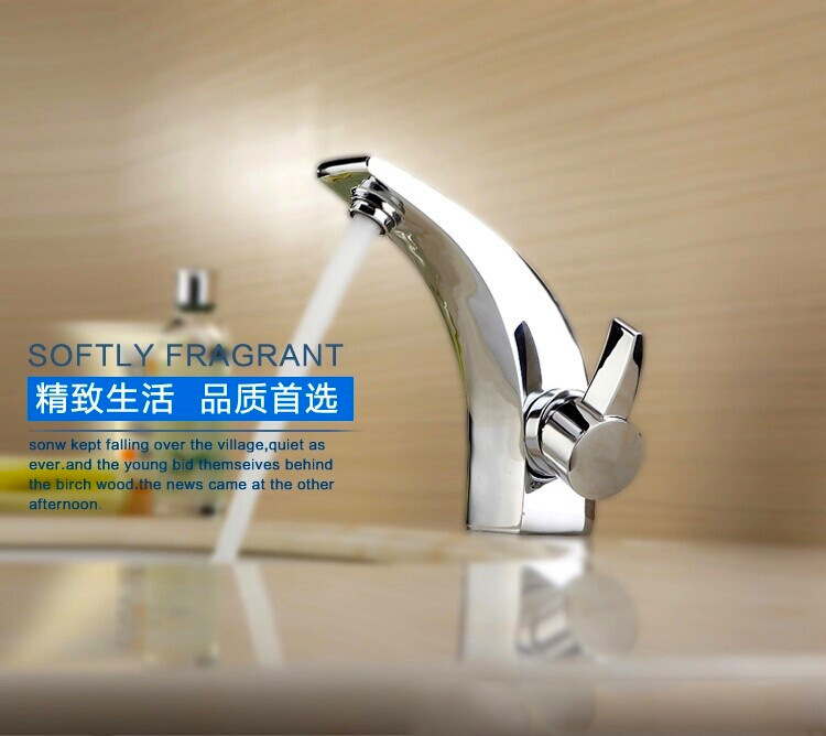 Ox horn fashional basin faucet with single handle hot cold bathroom basin sink mixer taps , sanitary ware , basin faucetOx horn fashional basin faucet with single handle hot cold bathroom basin sink mixer taps , sanitary ware , basin faucet