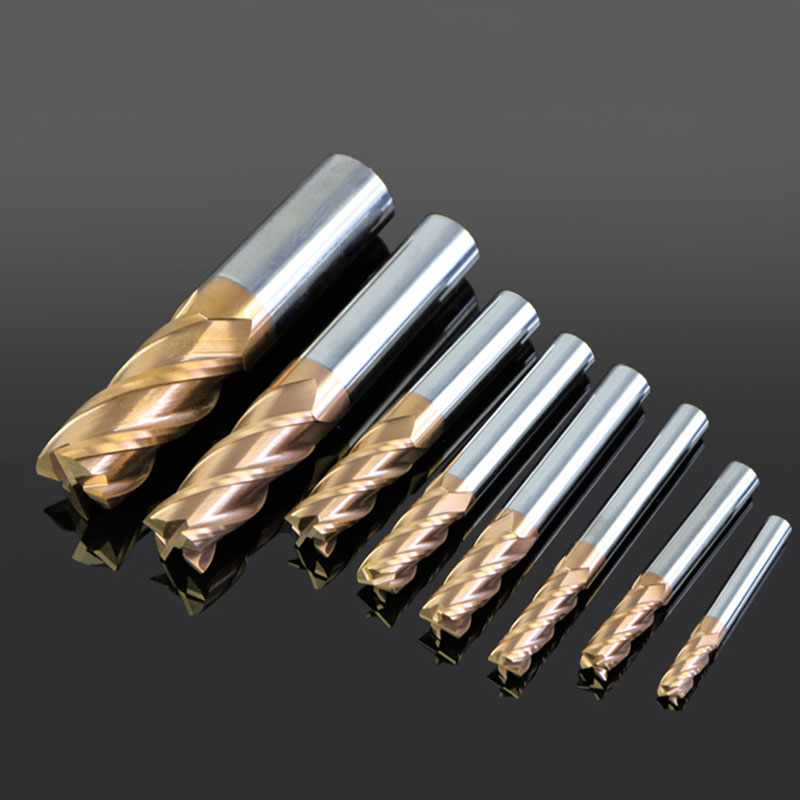 1pc 4F-D14 150L HRC60 carbide lathe cutting tool cnc Flatted End Mill 4 flute mill diameter 14 Milling Cutter For metal 2x12mm lathe parting cutting milling tool holder with 5 blades 200mm