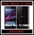 "Sony Xperia Z Ultra abierto Original GSM 3 G y 4 G Android Quad Core 2 GB RAM XL39H C6833 6.4 "" 8MP WIFI GPS 16 GB de almacenamiento"