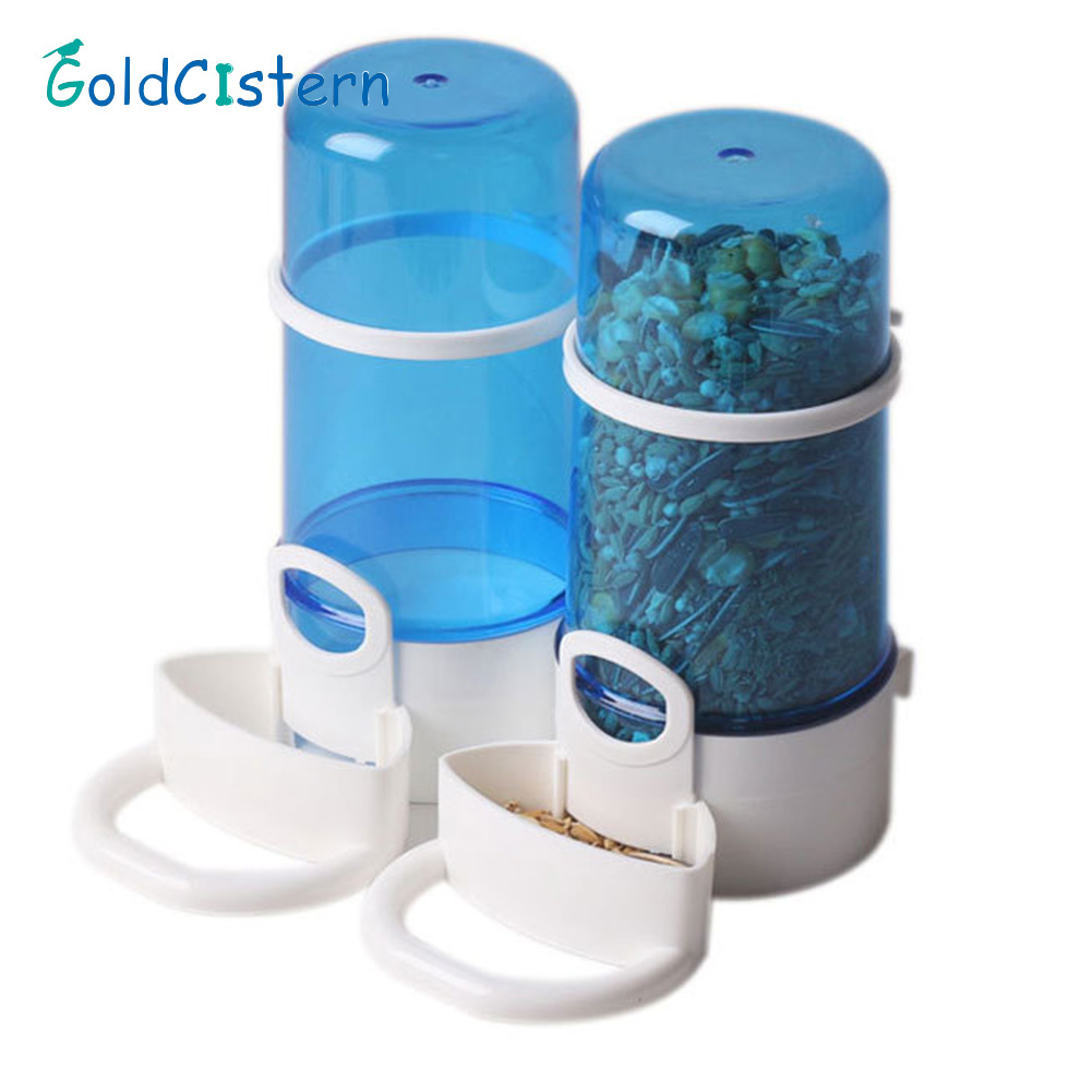 Hamster Automatic Feeder Small Pet Bowl Food Container For Small Pet Bottle With Food Bottle for Feeding for Small Animals 2018