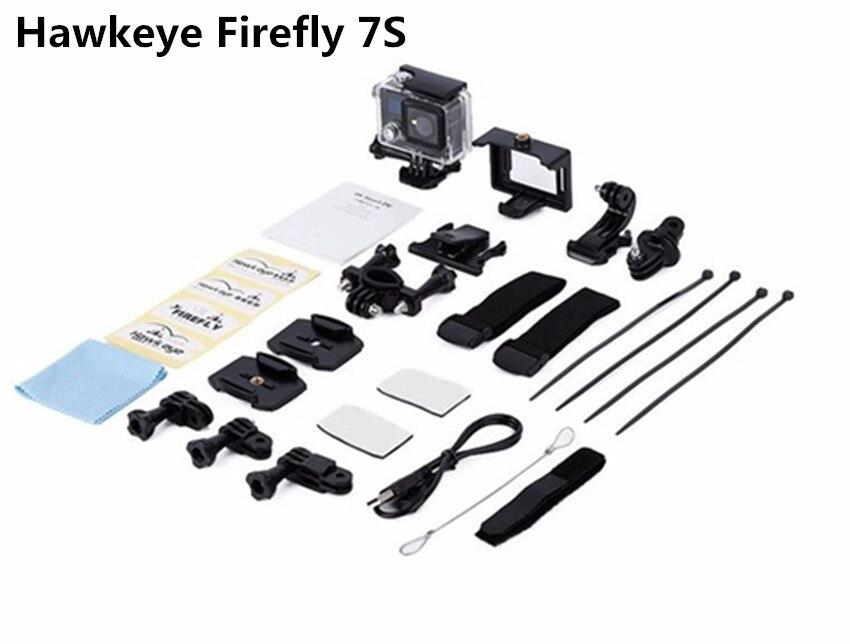 Haute qualité Hawkeye luciole 7 S 4 K étanche 20 M HD Action sport DV caméra enregistreur pour RCDrone