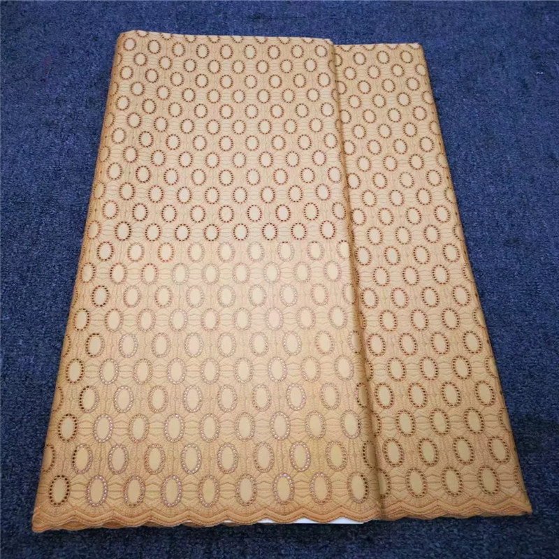 High Quality Swiss Voile Lace In Switzerland Cotton Polish Dry Men Dress Lace fabric For Wedding