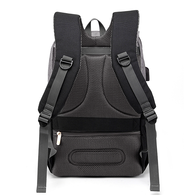 New Fashion With USB Mummy Daddy Diaper Bag Pure Large Waterproof Nursing Bag Travel Backpack Stroller Baby Care Nappy Bag 4