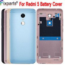 New Original Cover For Xiaomi Redmi 5 Battery Back Housing Door Case Replacement Plus