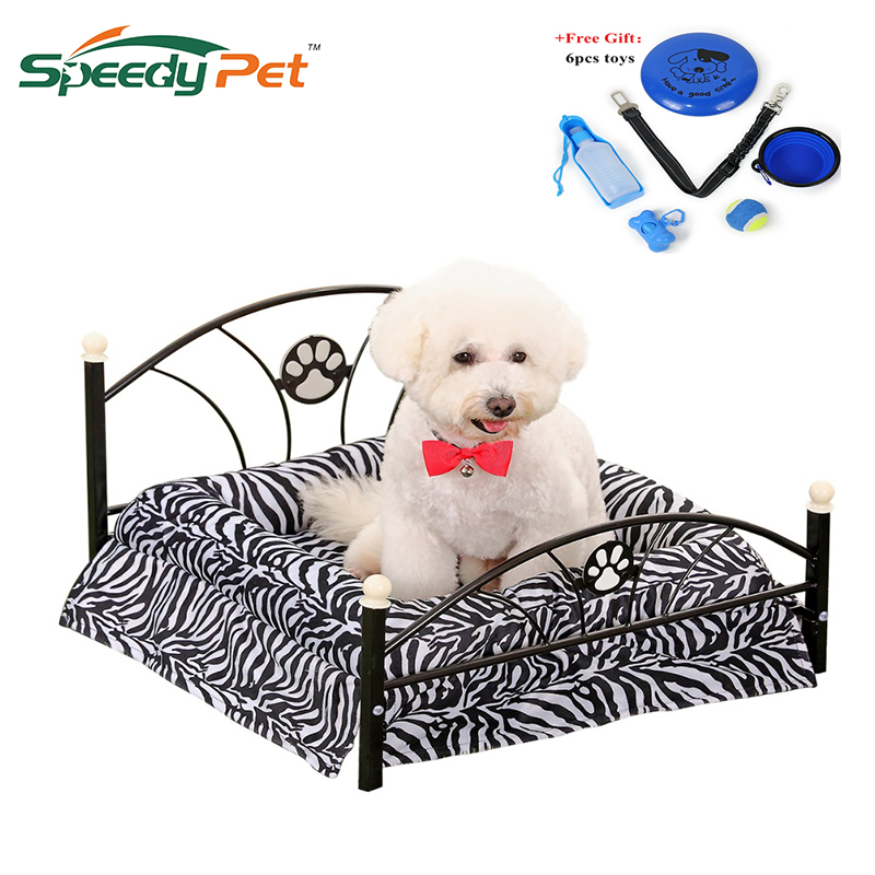 Fast Domestic Delivery Luxury Pet Bed Dog House Zebra Leopard Sofa for Pet Cat Puppy Cushion Mat Furniture High Quality Dog Bed Собака