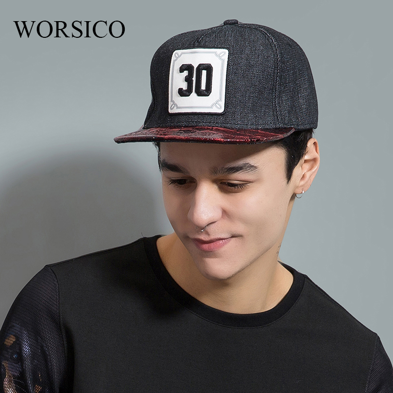 WORSICO High Quality Fall Fashion Baseball Caps Sports Hat Men Snapback Hip Hop Cap hat for Men Gorras стоимость