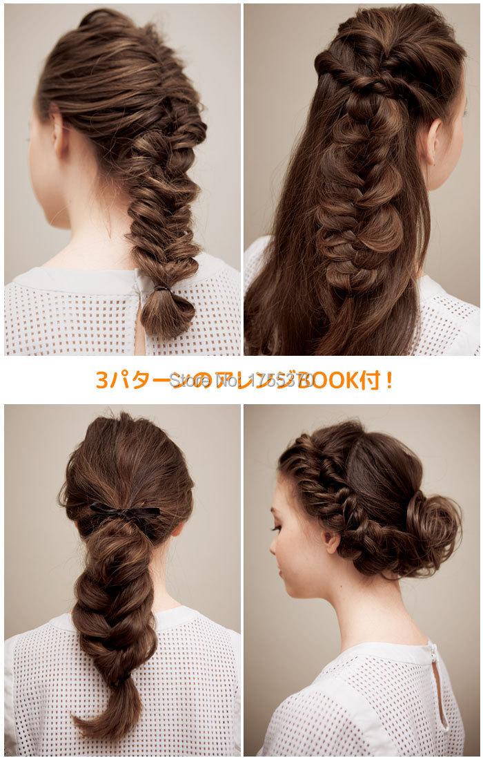 Fashion Magic Hair Braiding Fisk Bond Waves Braider Tool Roller Med - Hårpleje og styling - Foto 3
