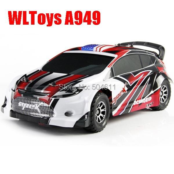 Wltoys A949 1:18 4WD вся доля RS гоночный радио дистанционного управления из светодиодов свет RC автомобилей